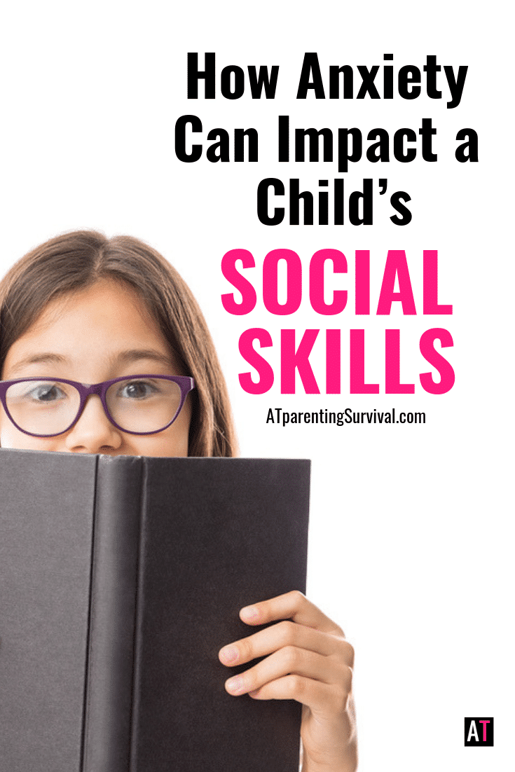 Anxiety can wreak havoc over so many aspects of our children's life. One area that sometimes gets overlooked is how anxiety impacts our children's social skills.