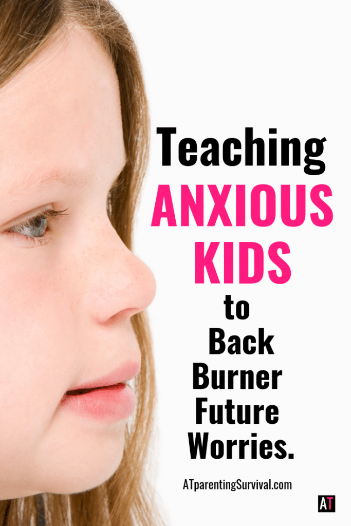 In this kids YouTube video I am teaching anxious kids how to back burner their future worries and reduce their current stress.