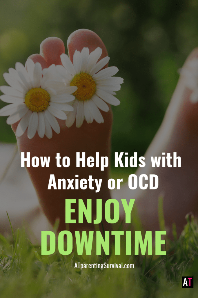 Often downtime can make an anxious mind worse, but it doesn't have to be that way! This week I am teaching kids how to handle downtime with anxiety or OCD.
