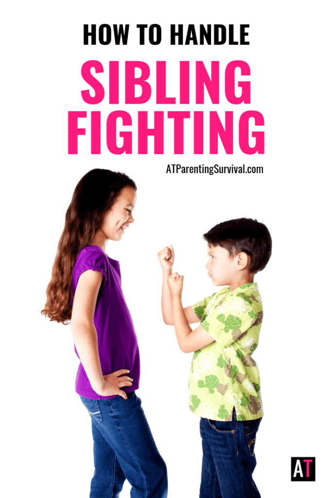 Tired of all the sibling fighting in your home? I share with you all my tips, tricks and survival techniques to get siblings to stop fighting.
