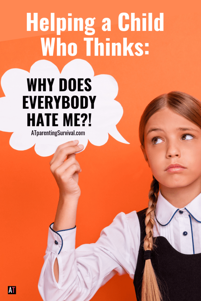 "In this short kids Youtube video, I am talking to kids who often say, ""everybody hates me!"" When in reality they are well liked."
