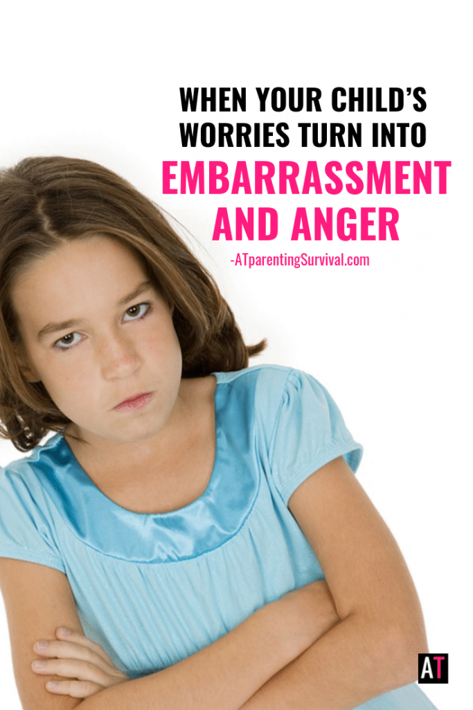When some of our kids feel worried, their anxiety quickly turns into embarrassment and anger. This kids video talks about how to handle those feelings.