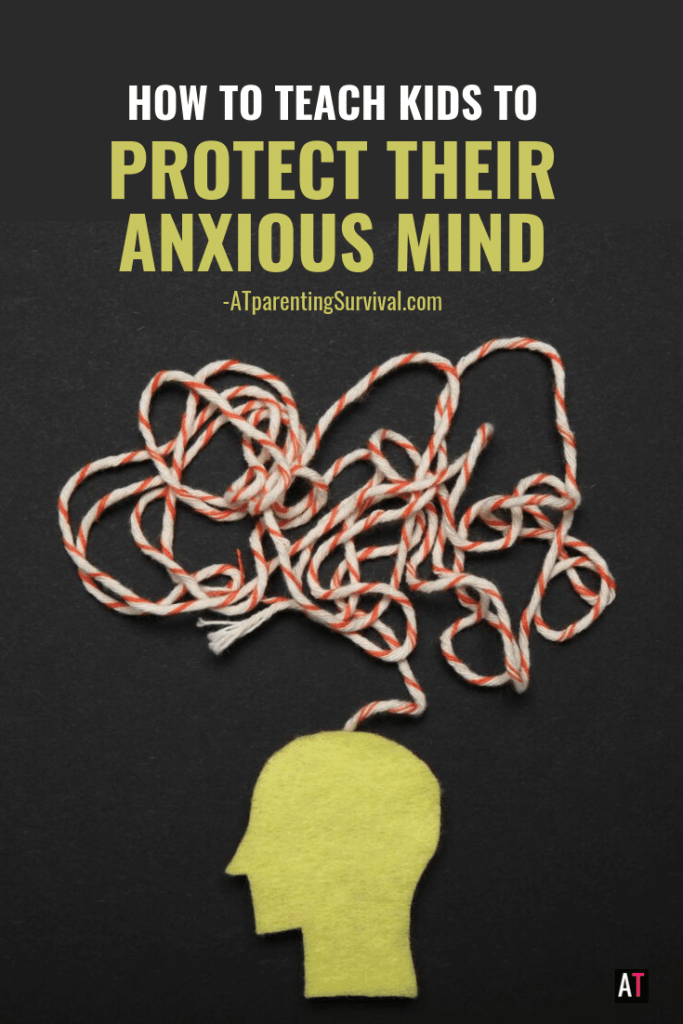 This week on my Kids Youtube Channel, I am teaching kids how to protect their anxious minds and why it is so important to do so!