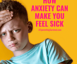 Teaching Kids the Mind Body Connection: When Anxiety Physically Hurts