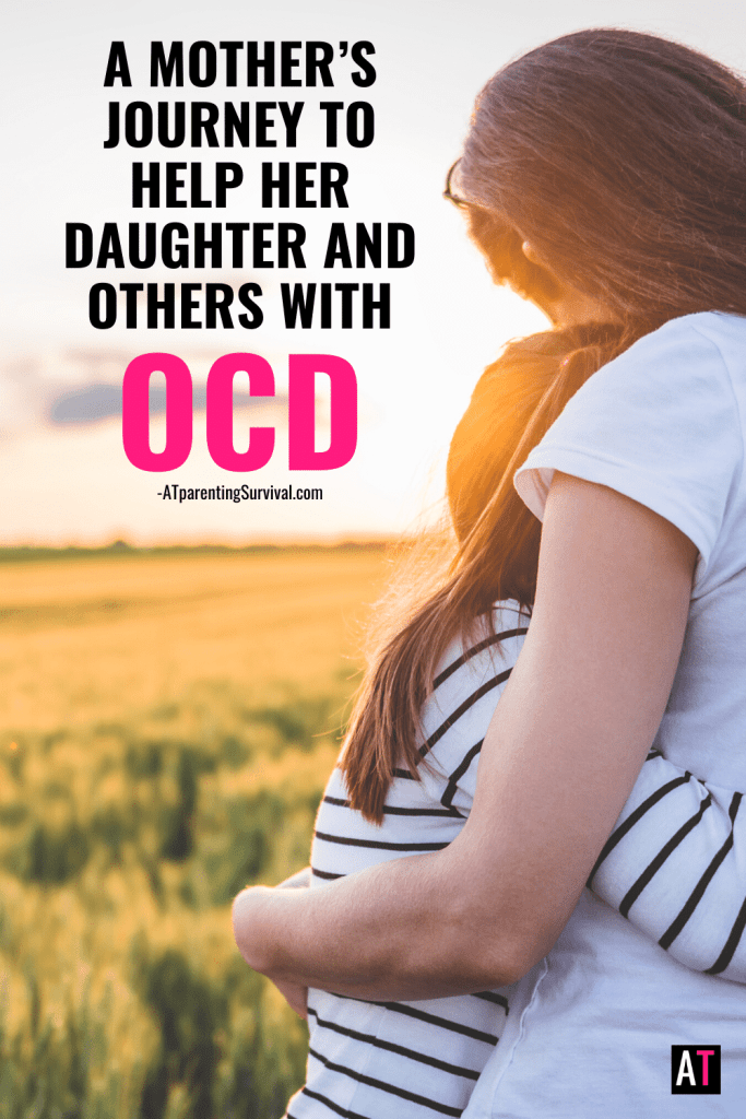 A mother talks about her journey helping her daughter and others with OCD. Inspired by her daughter's fight, Molly wrote Practicing Being Brave, a children's book on OCD.