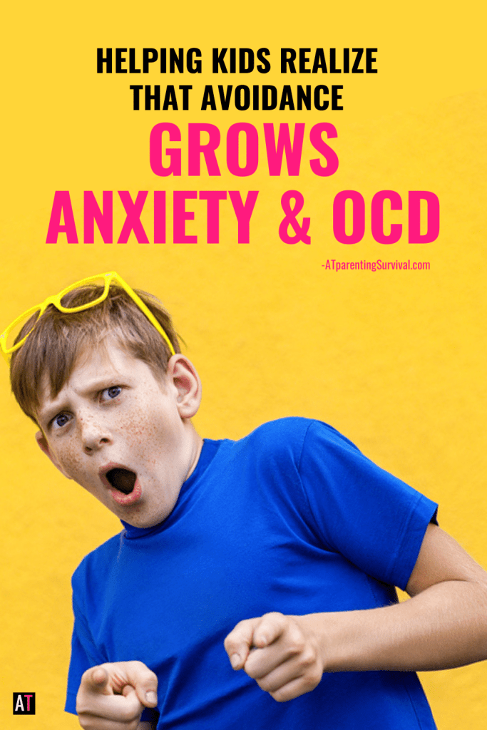 Anxiety and OCD love avoidance. In this kids youtube video I talk about how avoidance grows these issues and what to do instead.
