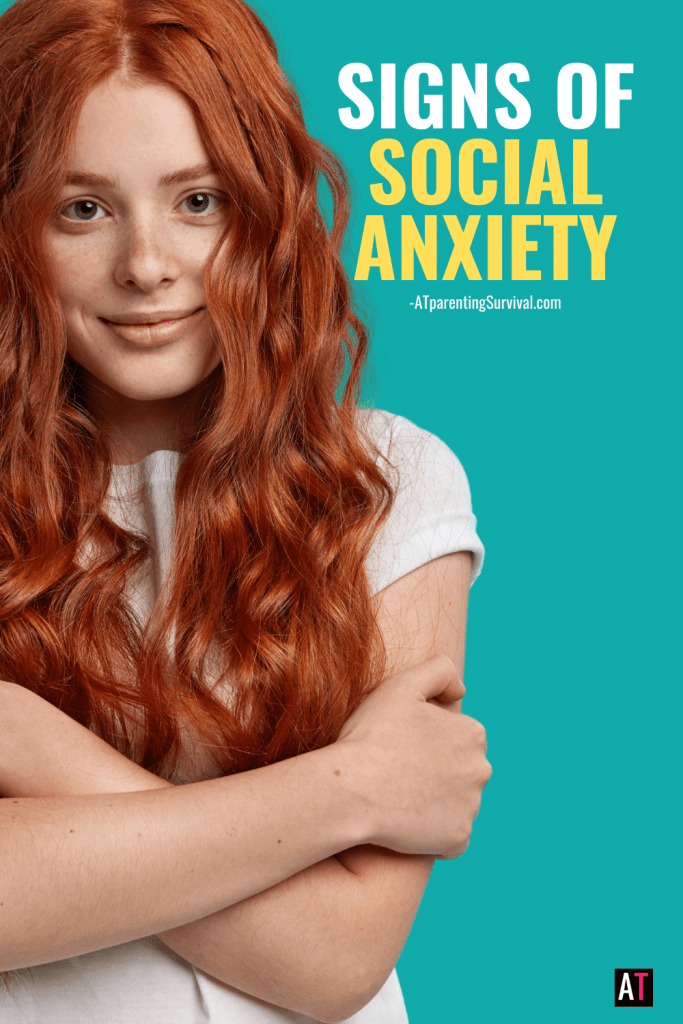 Social anxiety is not what many people think. Here are the most common signs of social anxiety in kids and teens.