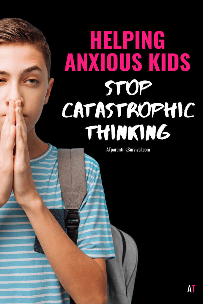 Do you want to know how to help your anxious child or teen? In this week's youtube video I teach kids how to stop catastrophic thinking with these easy tips.