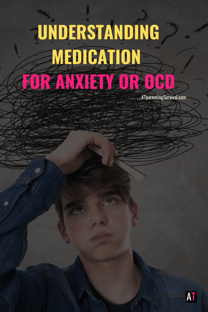 In this week's youtube video I talk to kids about why some kids need to take medication for anxiety or OCD and what to expect if they are prescribed medication.