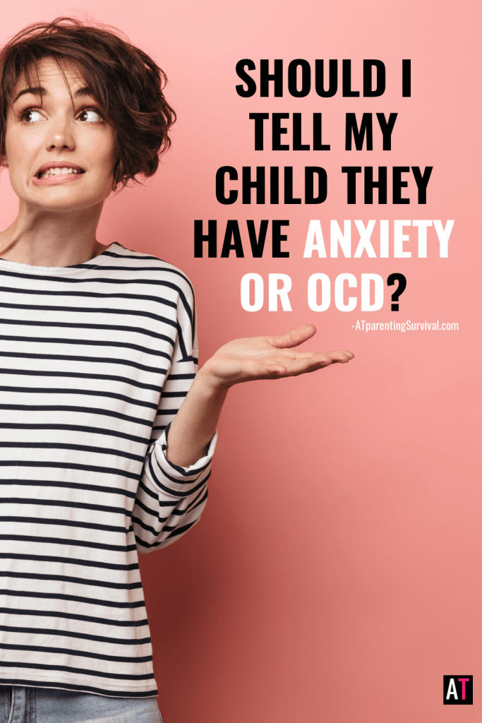 Should you tell your child they have anxiety or OCD? Is it harmful for them to read stories of other kids with anxiety or OCD? Let's dive in!