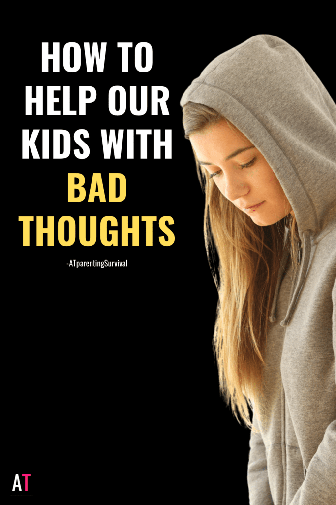 In this week's youtube video I talk to kids about how to get relief from bad thoughts. It's often not how people think.