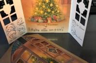 クリスマスカードも、楽しみの一つ・・・