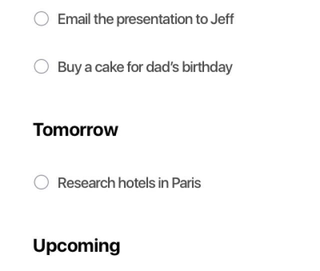 Tasks Sorted On Any Dos To Do List