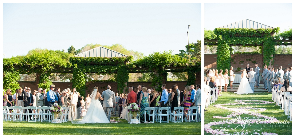 White river wedding