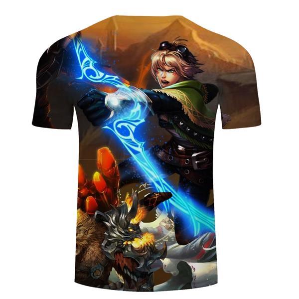 League of Legends LoL Ezreal T-shirt Clothing