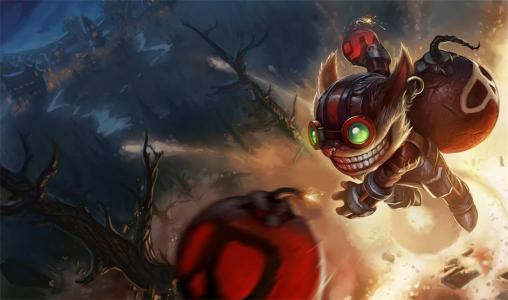 League of Legends LoL Ziggs Weapon Bomb Plush Toy