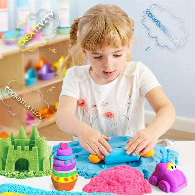 Play Sand Magic Sand Kinetic Sand Beach Sand Satisfying Toys Stress Relief Toys DIY Toys