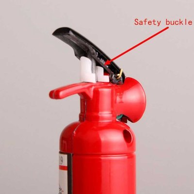 Useful Creative Mini Compact Jet Butane Lighter Fire Extinguisher Shaped (No Gas)