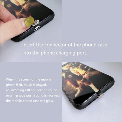 LED Colorful Glowing Phone Case