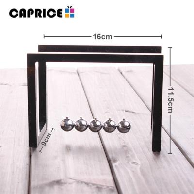 Newton Balls Cradle Steel Balance Ball Newtons Pendulum Ornaments Home Decorations Desk Decoracion