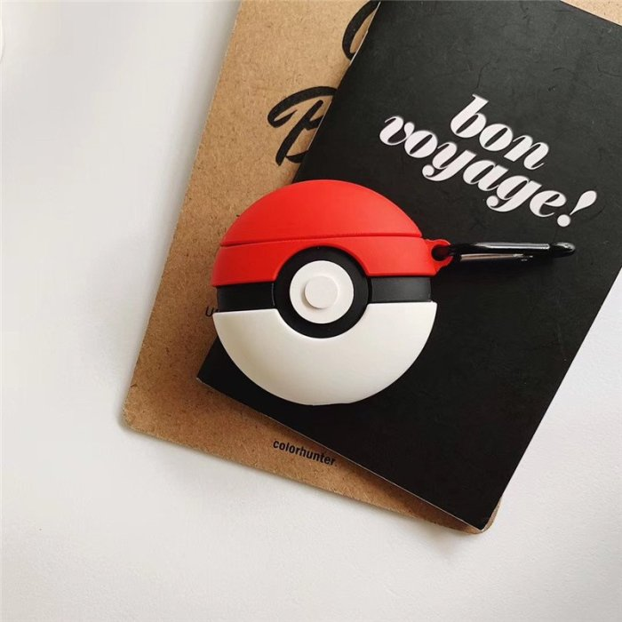 Pokemon Poke Ball Protective Case For Airpods 1 and 2