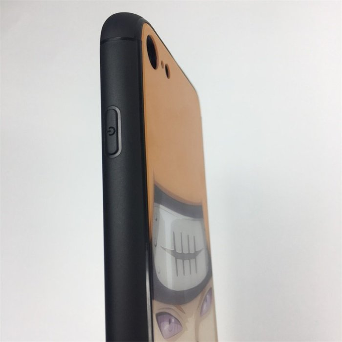 Naruto Pain LED Colorful Glowing Phone Case For iPhone