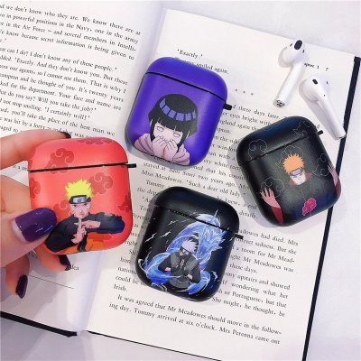 Naruto Sasuke Kakashi Itachi Hinata Pain Protective Case For Airpods 1 and 2
