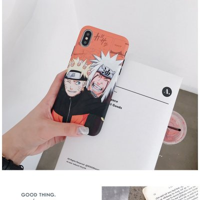 Anime Naruto Jiraiya Phone Case For iPhone
