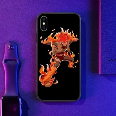 Anime Naruto Might Guy LED Phone Case For iPhone