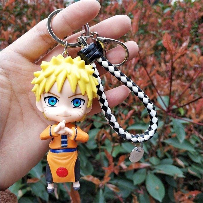 Naruto Cute Cartoon Figure Keyring Keychain