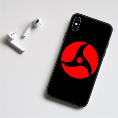 Anime Naruto Itachi Sharingan LED Phone Case For Samsung