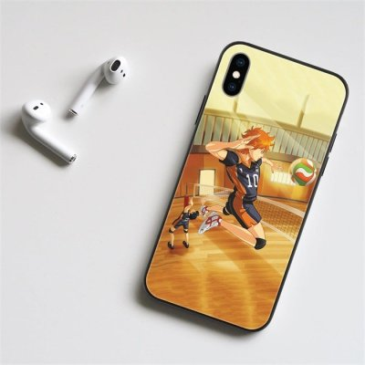 Anime Haikyuu!! Hinata Shoyo LED Phone Case For iPhone
