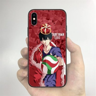 Anime Haikyuu!! Kageyama LED Phone Case For iPhone