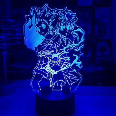 Anime Hunter x Hunter Killua and Gon 16 Colors Table Lamp