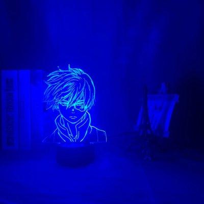 Anime My Hero Academia Todoroki 16 Colors Table Lamp