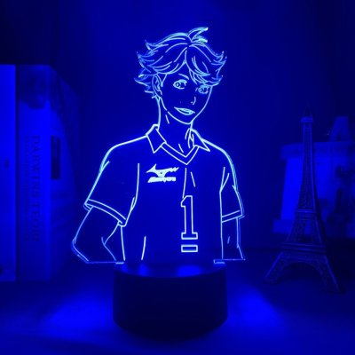 Anime Haikyuu!! Oikawa 16 Colors Table Lamp