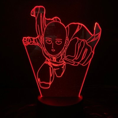 One Punch Man 16 Colors Table Lamp