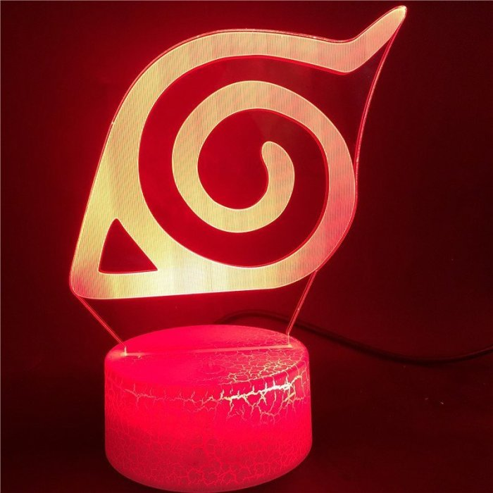 Anime Naruto 16 Colors Table Lamp