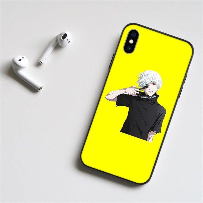 Anime Tokyo Ghoul Kaneki LED Phone Case For iPhone