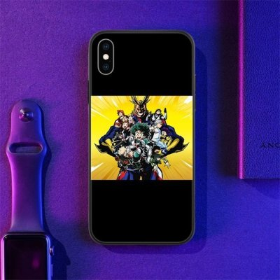 Anime My Hero Academia LED Phone Case For iPhone