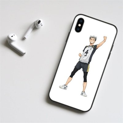Anime Haikyuu!! Bokuto LED Phone Case For iPhone