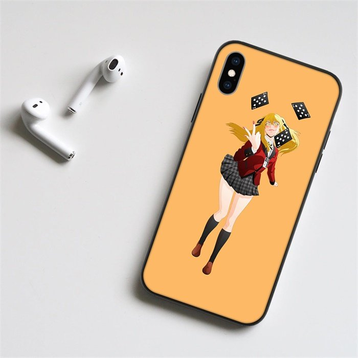 Anime Kakegurui Mary Saotome LED Phone Case For iPhone