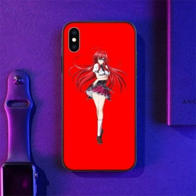 Anime High School DxD Rias LED Phone Case For iPhone
