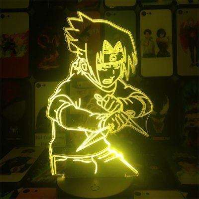 Sasuke 16 Colors Anime Lamp