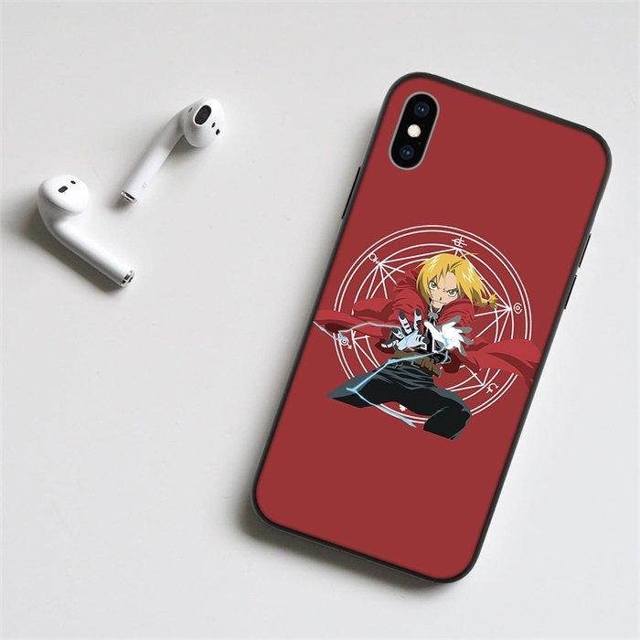 Fullmetal Alchemist Edward LED Phone Case For iPhone