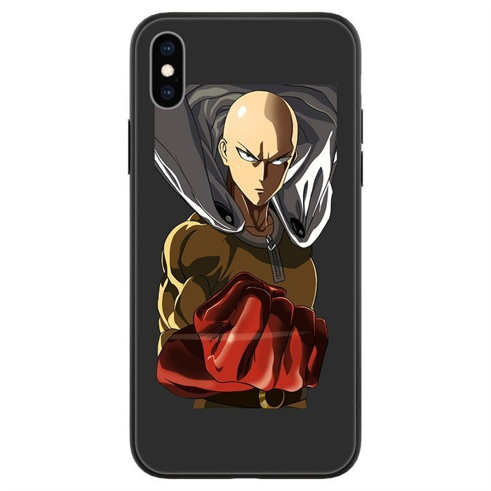 One Punch Man LED Phone Case For iPhone