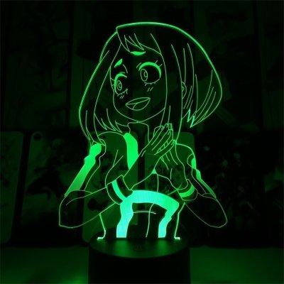 Ochako Uraraka 16 Colors Table Lamp