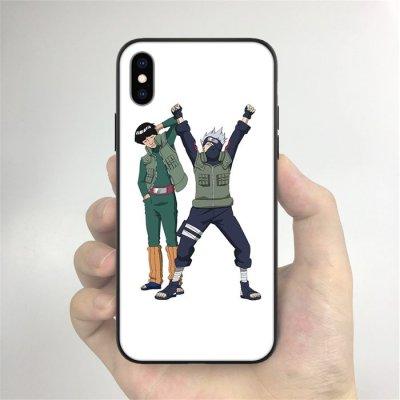 Kakashi and Guy LED Phone Case For iPhone