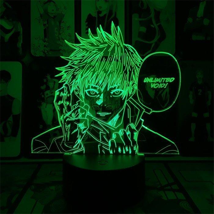 Satoru Gojo 16 Colors Table Lamp