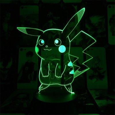 Pikachu 16 Colors Table Lamp